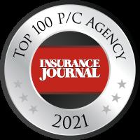 Insurance Journal - Top 100 P/C Agency 2021 Badge