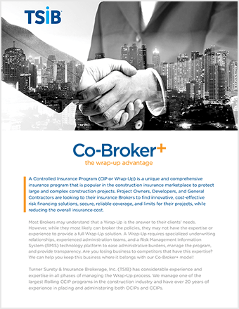 TSIB - Co-Broker+ Sell Sheet