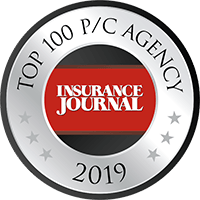 Insurance Journal - Top 100 P/C Agency 2019 Badge